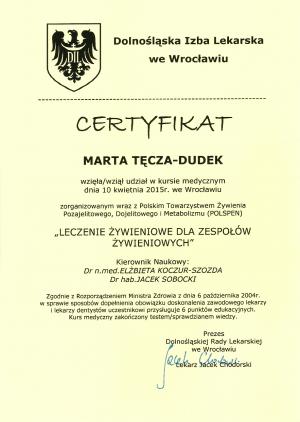 Certyfikaty MedDietetyka7