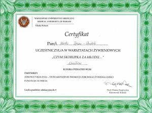 Certyfikaty MedDietetyka9
